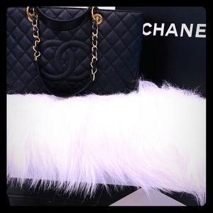 CHANEL Grand Shopping GST Black Caviar, Gold 2012